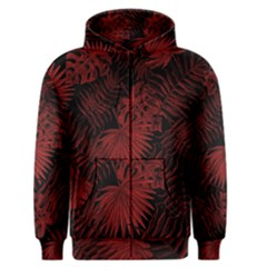 Tropical Pattern Men s Zipper Hoodie by ValentinaDesign