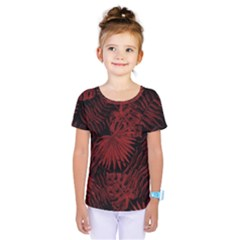 Tropical Pattern Kids  One Piece Tee by ValentinaDesign