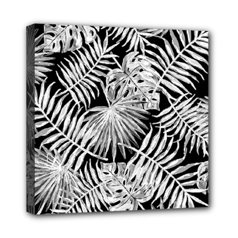Tropical Pattern Mini Canvas 8  X 8  by ValentinaDesign