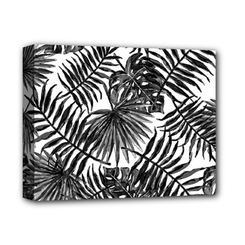 Tropical Pattern Deluxe Canvas 14  X 11  by ValentinaDesign