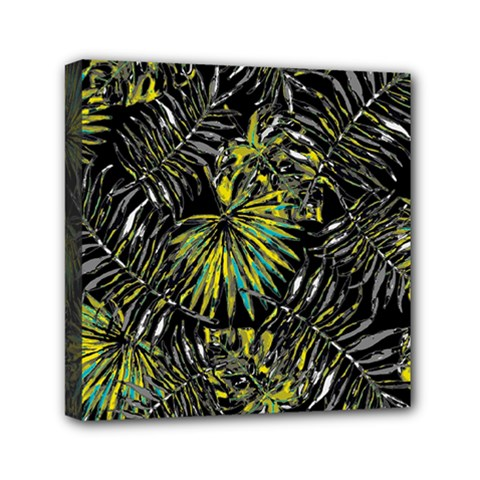 Tropical Pattern Mini Canvas 6  X 6  by ValentinaDesign