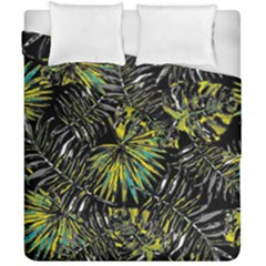 Tropical Pattern Duvet Cover Double Side (california King Size) by ValentinaDesign
