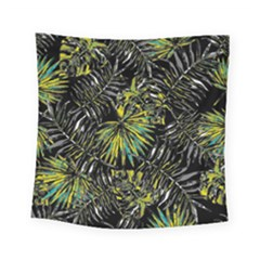 Tropical Pattern Square Tapestry (small) by ValentinaDesign