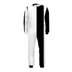 Black And White Onepiece Jumpsuit (kids)