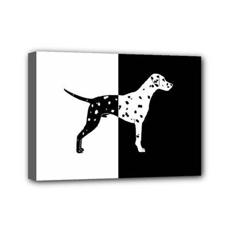 Dalmatian Dog Mini Canvas 7  X 5  by Valentinaart