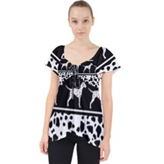 Dalmatian Dog Dolly Top