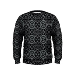 Oriental Pattern Kids  Sweatshirt