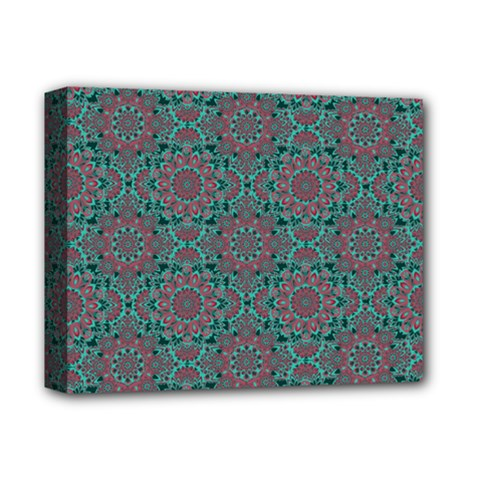 Oriental Pattern Deluxe Canvas 14  X 11  by ValentinaDesign