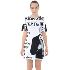 Rick Astley Sixties Short Sleeve Mini Dress