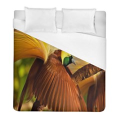 Birds Paradise Cendrawasih Duvet Cover (full/ Double Size) by Mariart