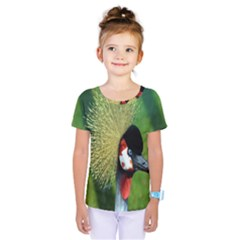 Bird Hairstyle Animals Sexy Beauty Kids  One Piece Tee