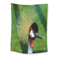 Bird Hairstyle Animals Sexy Beauty Medium Tapestry by Mariart