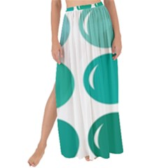 Bubbel Balloon Shades Teal Maxi Chiffon Tie Up Sarong