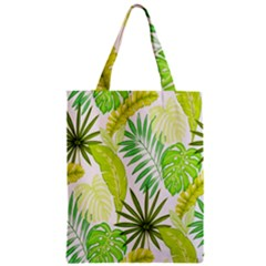Amazon Forest Natural Green Yellow Leaf Zipper Classic Tote Bag by Mariart