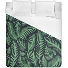 Coconut Leaves Summer Green Duvet Cover (california King Size) by Mariart