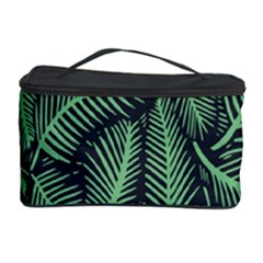 Coconut Leaves Summer Green Cosmetic Storage Case by Mariart