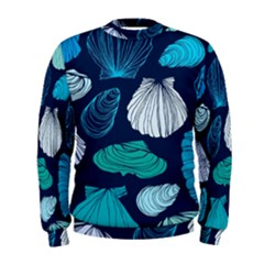 Mega Menu Seashells Men s Sweatshirt by Mariart