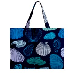 Mega Menu Seashells Zipper Mini Tote Bag by Mariart
