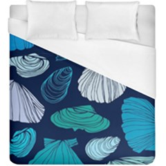 Mega Menu Seashells Duvet Cover (king Size) by Mariart