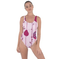 Original Tree Bird Leaf Flower Floral Pink Wave Chevron Blue Polka Dots Bring Sexy Back Swimsuit