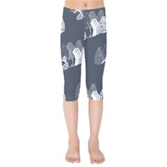 Japan Food Sashimi Kids  Capri Leggings  by Mariart