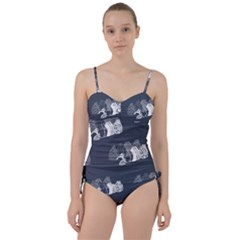 Japan Food Sashimi Sweetheart Tankini Set by Mariart
