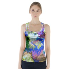 Color Mix Canvas                            Racer Back Sports Top