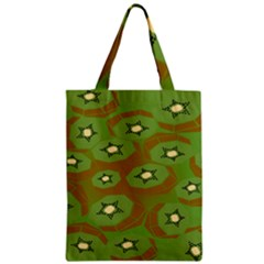 Relativity Pattern Moon Star Polka Dots Green Space Zipper Classic Tote Bag by Mariart