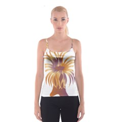 Sea Anemone Spaghetti Strap Top by Mariart