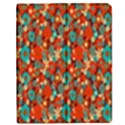 Surface Patterns Bright Flower Floral Sunflower Apple iPad 2 Flip Case View1
