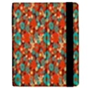 Surface Patterns Bright Flower Floral Sunflower Apple iPad 2 Flip Case View2