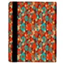 Surface Patterns Bright Flower Floral Sunflower Apple iPad 2 Flip Case View3
