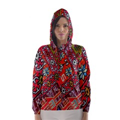 Carpet Orient Pattern Hooded Wind Breaker (women)