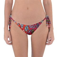 Carpet Orient Pattern Reversible Bikini Bottom