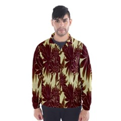 Floral Pattern Background Wind Breaker (men)