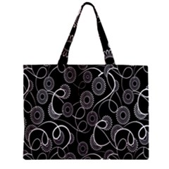 Floral Pattern Background Zipper Mini Tote Bag by BangZart