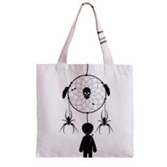 Voodoo Dream Catcher  Zipper Grocery Tote Bag