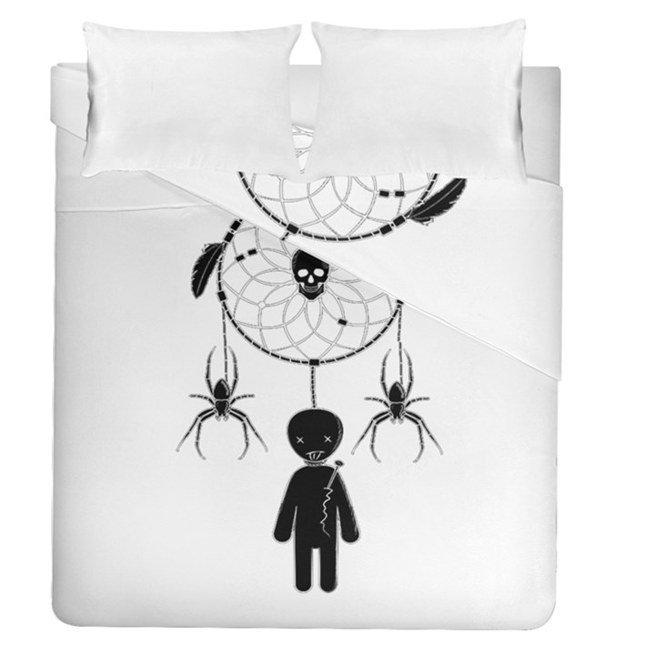 Voodoo dream-catcher  Duvet Cover Double Side (Queen Size)