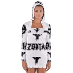 Zodiac Killer  Long Sleeve Hooded T Shirt