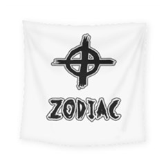 Zodiac Killer  Square Tapestry (small) by Valentinaart