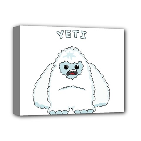 Yeti Deluxe Canvas 14  X 11  by Valentinaart