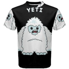 Yeti Men s Cotton Tee by Valentinaart