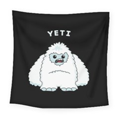 Yeti Square Tapestry (large) by Valentinaart