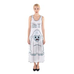 Yeti   I Saw A Man Sleeveless Maxi Dress