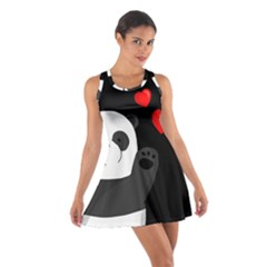 Cute Panda Cotton Racerback Dress