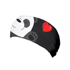 Cute Panda Yoga Headband