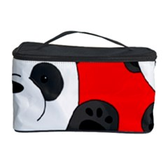 Cute Pandas Cosmetic Storage Case by Valentinaart