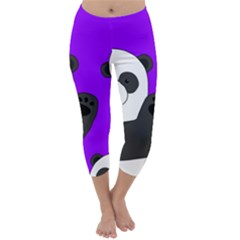 Cute Pandas Capri Winter Leggings