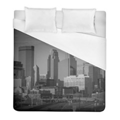 Minneapolis Minnesota Skyline Duvet Cover (full/ Double Size) by BangZart
