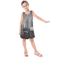 Minneapolis Minnesota Skyline Kids  Sleeveless Dress